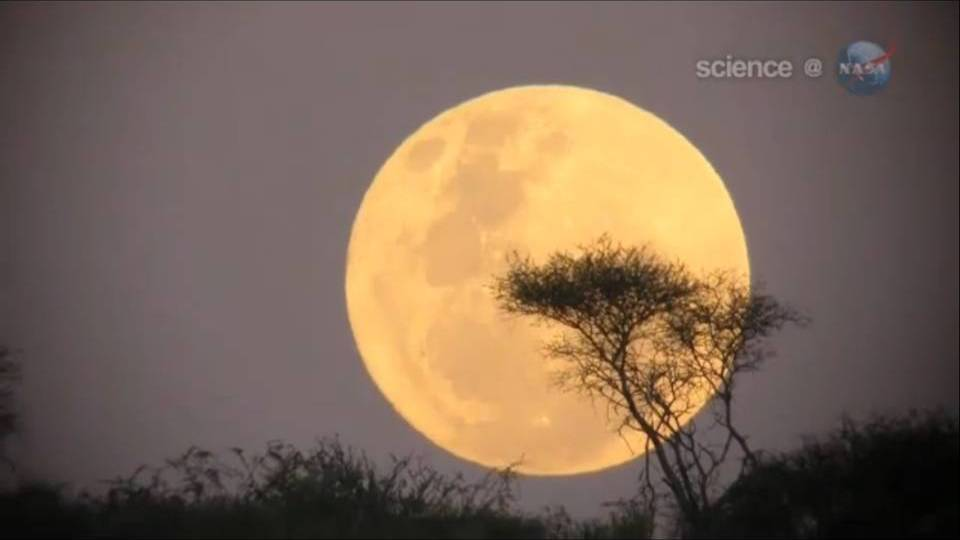 Super Moon NASA