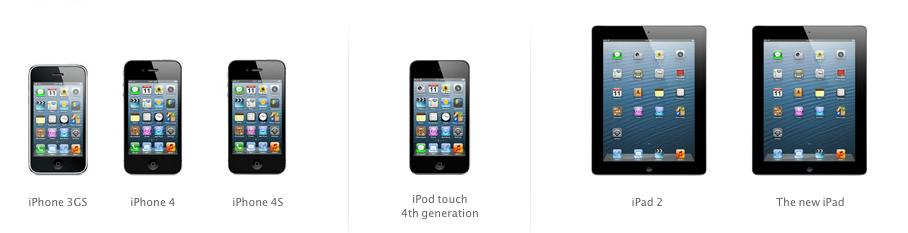 IOS6 device