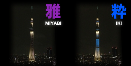 Skytree lightup title
